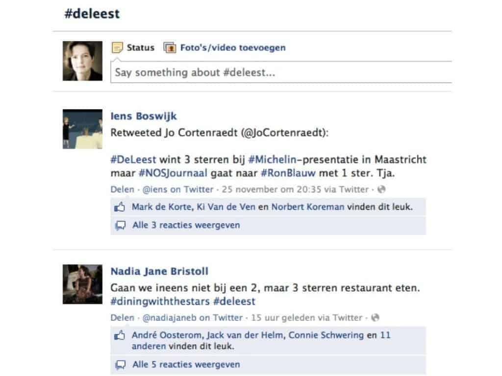 horeca facebook, facebook hore