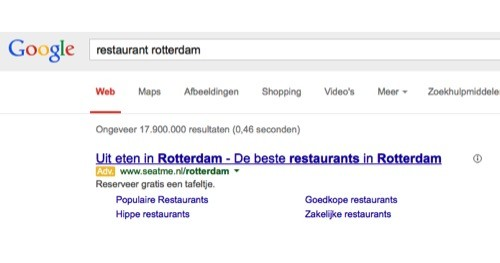 adwords, marketing, horeca, restaurantmarketing, online marketing bureau, sea