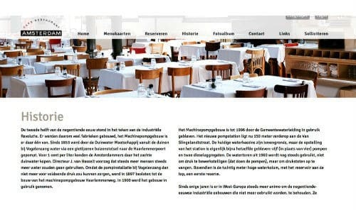 website, tips. horeca, amsterdam, restaurant