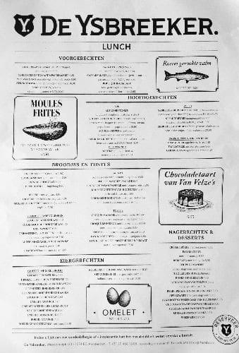 menukaart, menukaart maken, horeca, marketing, menukaart opstellen