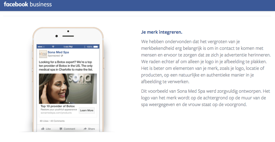 facebook tips, adverteren, foto maken
