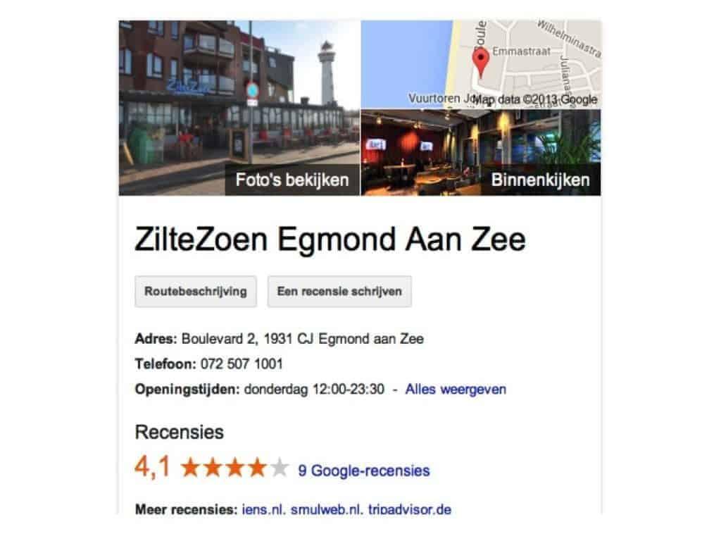Hoe goed is jouw restaurant online vindbaar?
