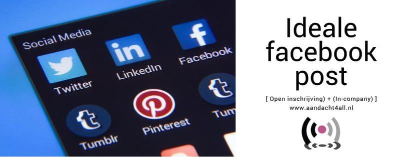 Facebook post, horeca marketing, restaurant social media, hulp, advies, uitbesteden