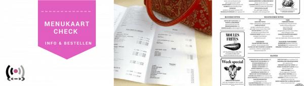 menukaart restaurant maken